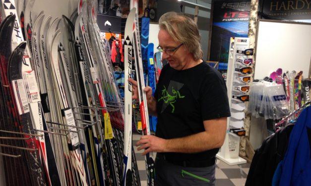 Salget av ny type ski går strålende