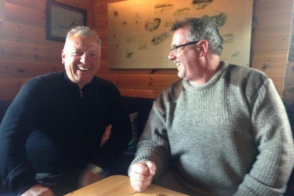 Gary Scott og Mark Cockburn